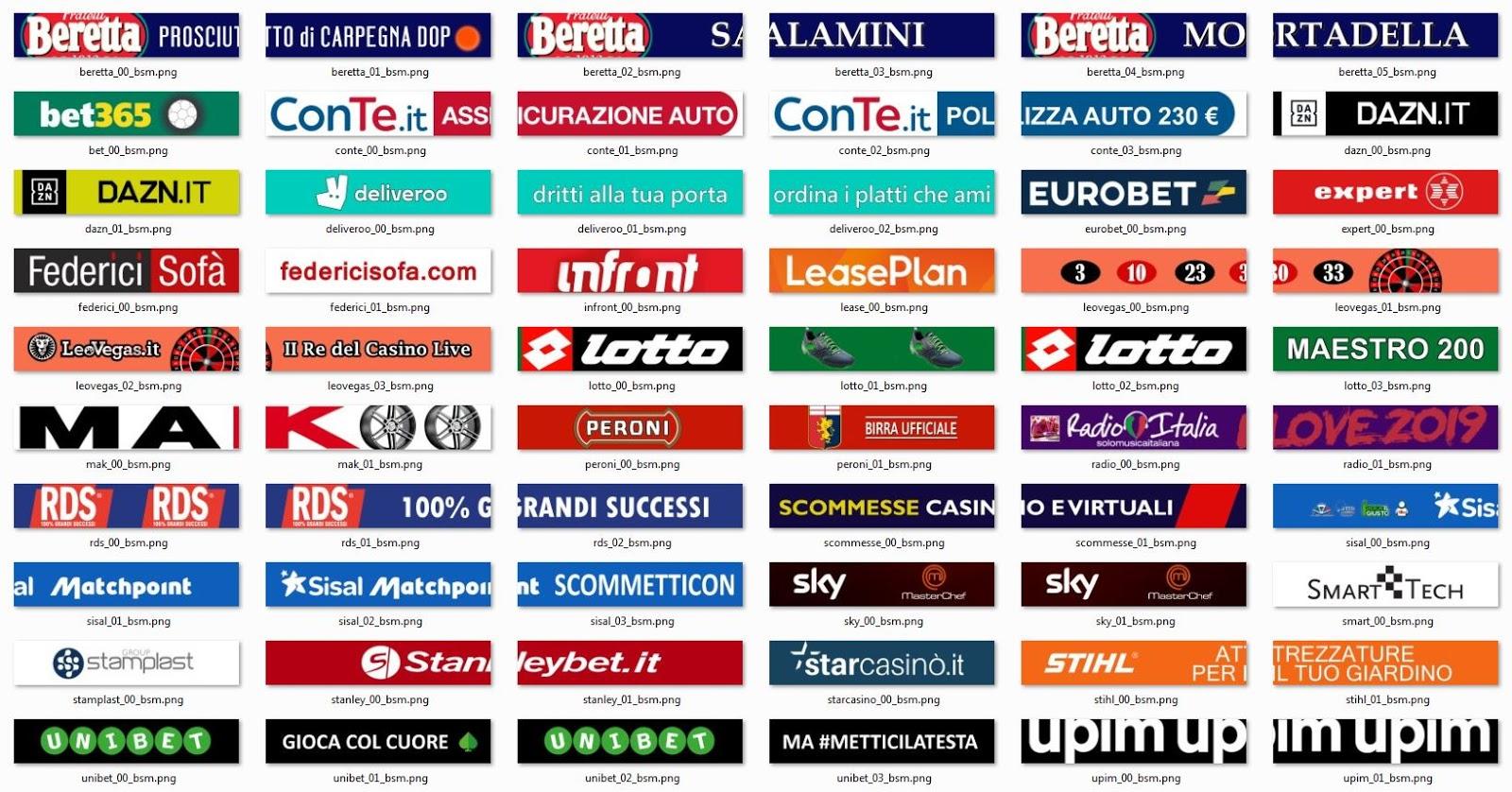 PES 2019  Genoa adboards by chosefs