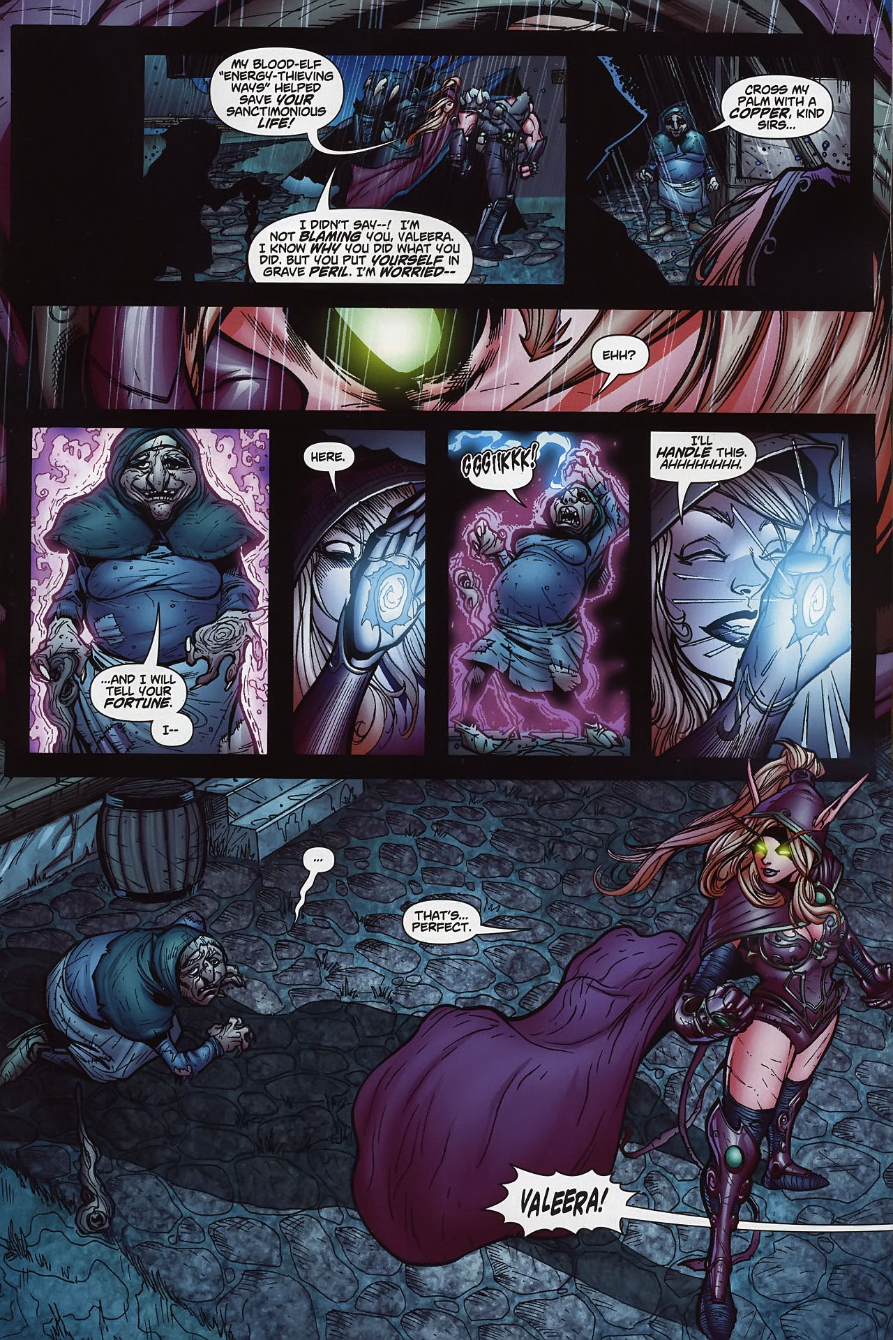 Read online World of Warcraft comic -  Issue #8 - 8