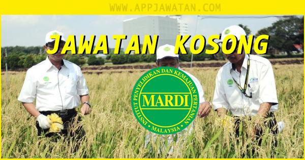 Jawatan Kosong di MARDI Malaysia