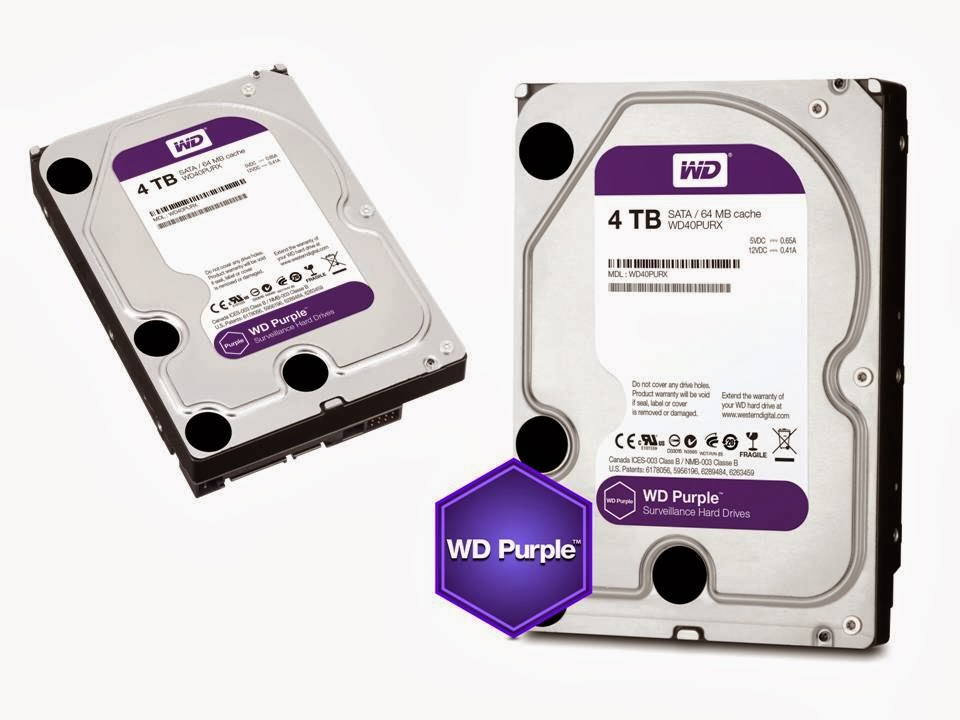 WD Purple Drives Equipped for Home/Small Business Security