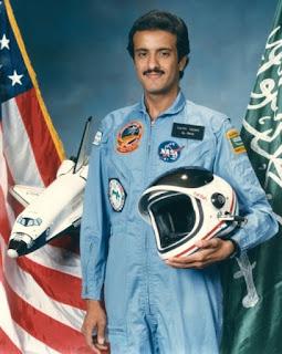 muslim pertama astronot arab luar angkasa