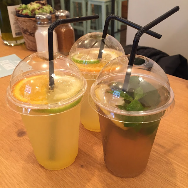 Filakia - Thé glacé et citronnade