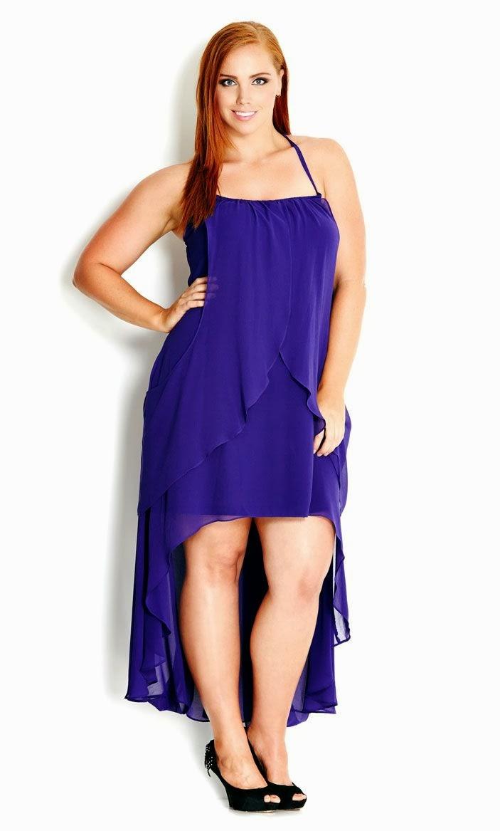 Vestidos de Noche Azules-Cortos para Gorditas-Tallas Especiales-