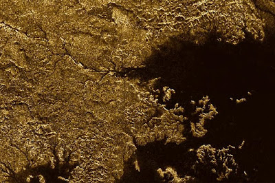 Flooded Canyons on Saturn's Moon Discovered By NASA