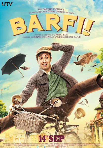 Poster Of Barfi 2012 720p Hindi BRRip Full Movie Download