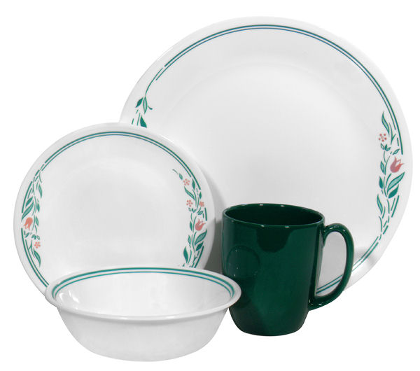 US Corelle new CORELLE LIVINGWARE patterns for preorder