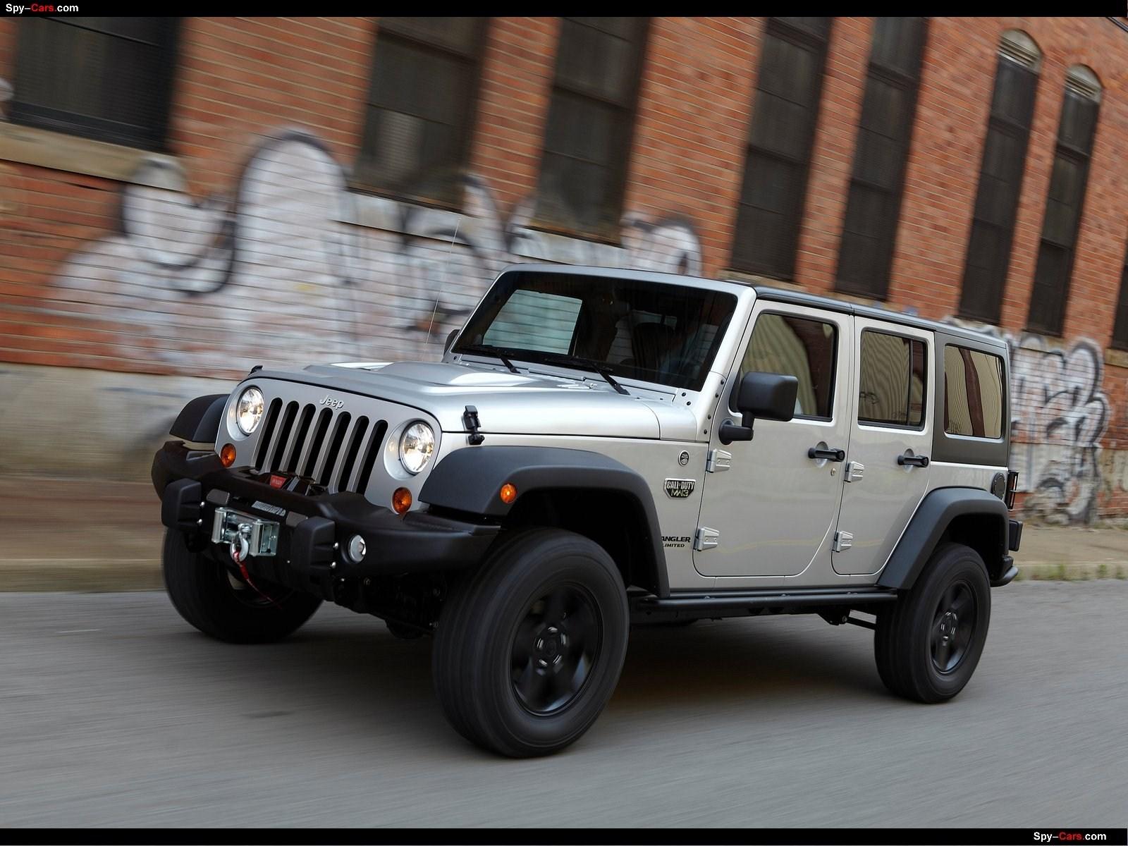 2012 Jeep Wrangler Call Of Duty Mw3 Jeep Auto Twenty