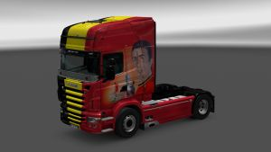 Belgique Skin for Scania RJL