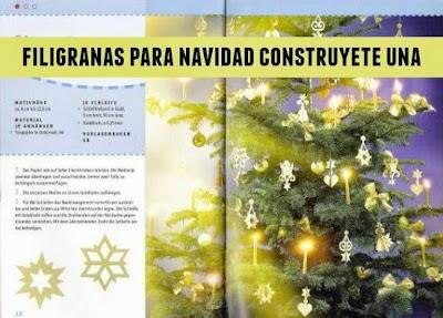 Filigranas para Navidad construye la tuya