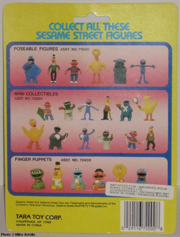 Mikey S Muppet Memorabilia Museum Sesame Street Pvc