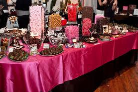 Candy Bar Table Decorations