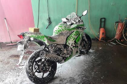 Cuci Motor Ketika Mesin Masih Panas