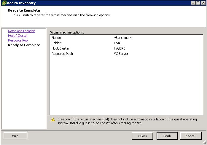 How to bring ORPHAN Virtual Machine online (Grayed out