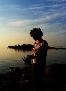 irja, kahvinkeitto merellä