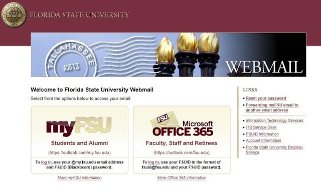 FSU Webmail login