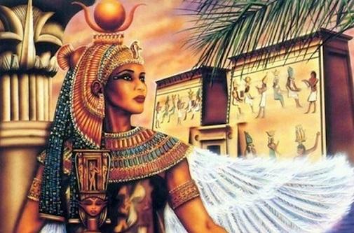Hindistan'da Mısırlı Bir Tanrıçaya Tapınak