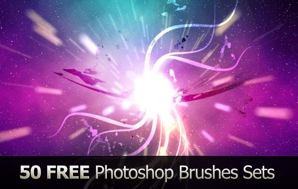 50 бесплатных наборов кистей для Фотошопа