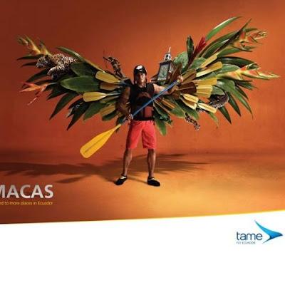 fotomontaje publicidad de avión