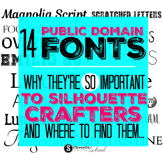 silhouette business, public domain fonts, commercial use fonts, commercial use files