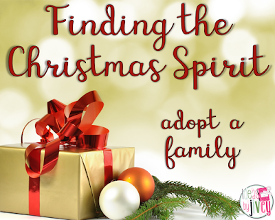Finding the Christmas Spirit: Adopt a Family {#TeachersWhoGive ...