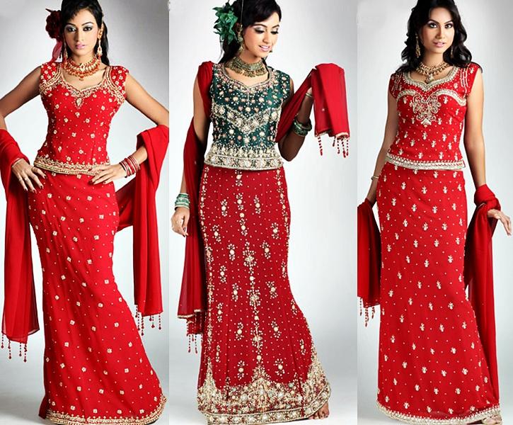 59387c0a11a82b Bridal | Long Choli for Brides | Bridal Choli and Lehenga| Bridal ...