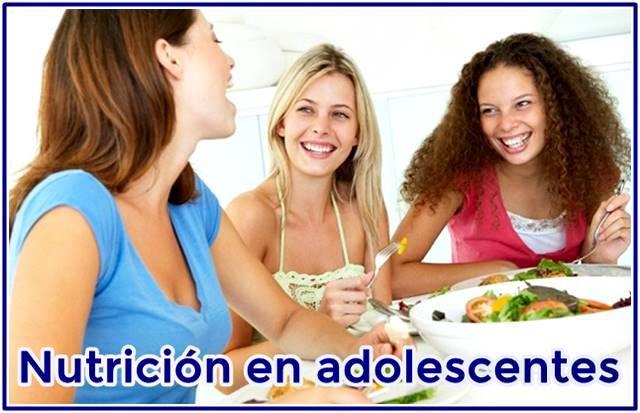 Recomendaciones nutricionales en la adolescencia para un desarrollo y crecimiento saludables hacia la edad adulta