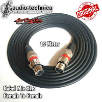 Kabel Mic XLR 15 meter Female To Female canon canare