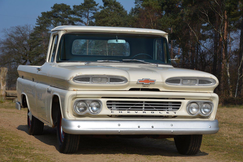 Truck chevy 1960 truck : 1960 Chevrolet Apache C10 Fleetside & 1960 Chevrolet Trucks ...