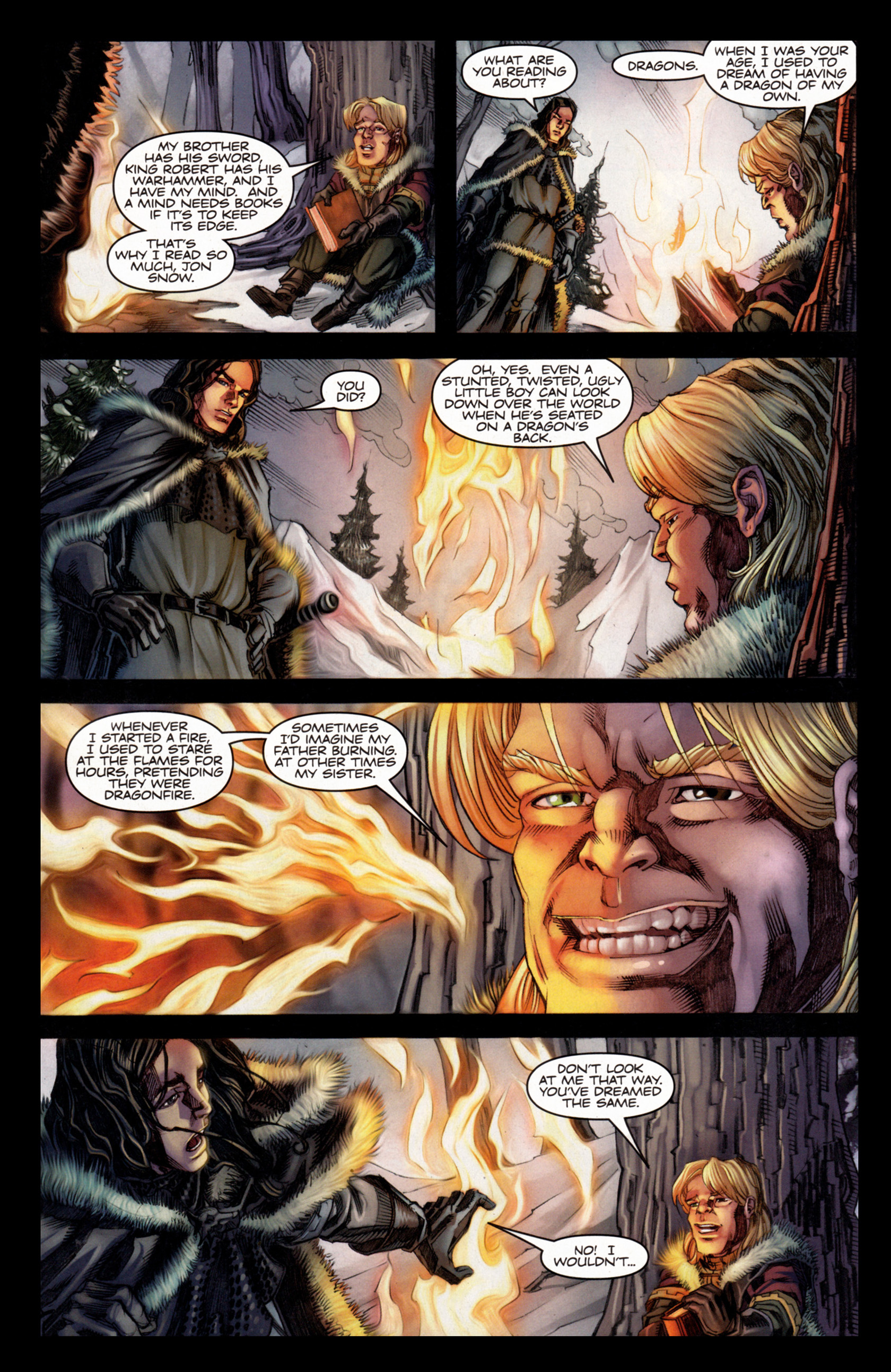 Read online A Game Of Thrones comic -  Issue #4 - 16