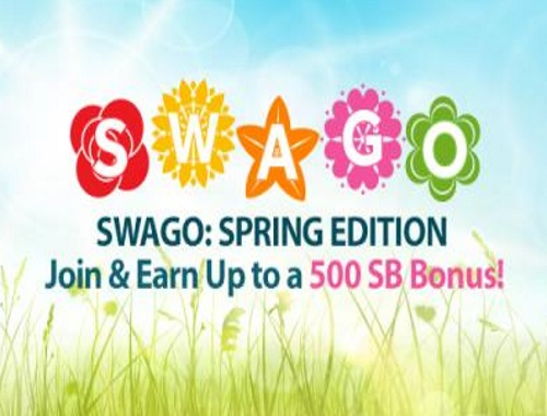 Swagbucks Swago Spring Edition is here!