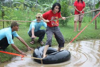 Outbound desa wisata Ledok sambi