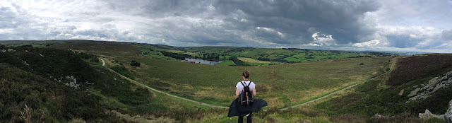 Panoramic view of Penistone Hill Country Park