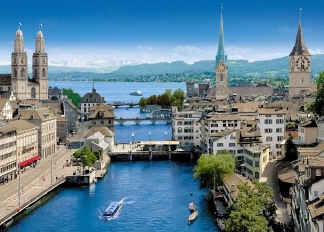Thành phố Zurich Thụy Sỹ