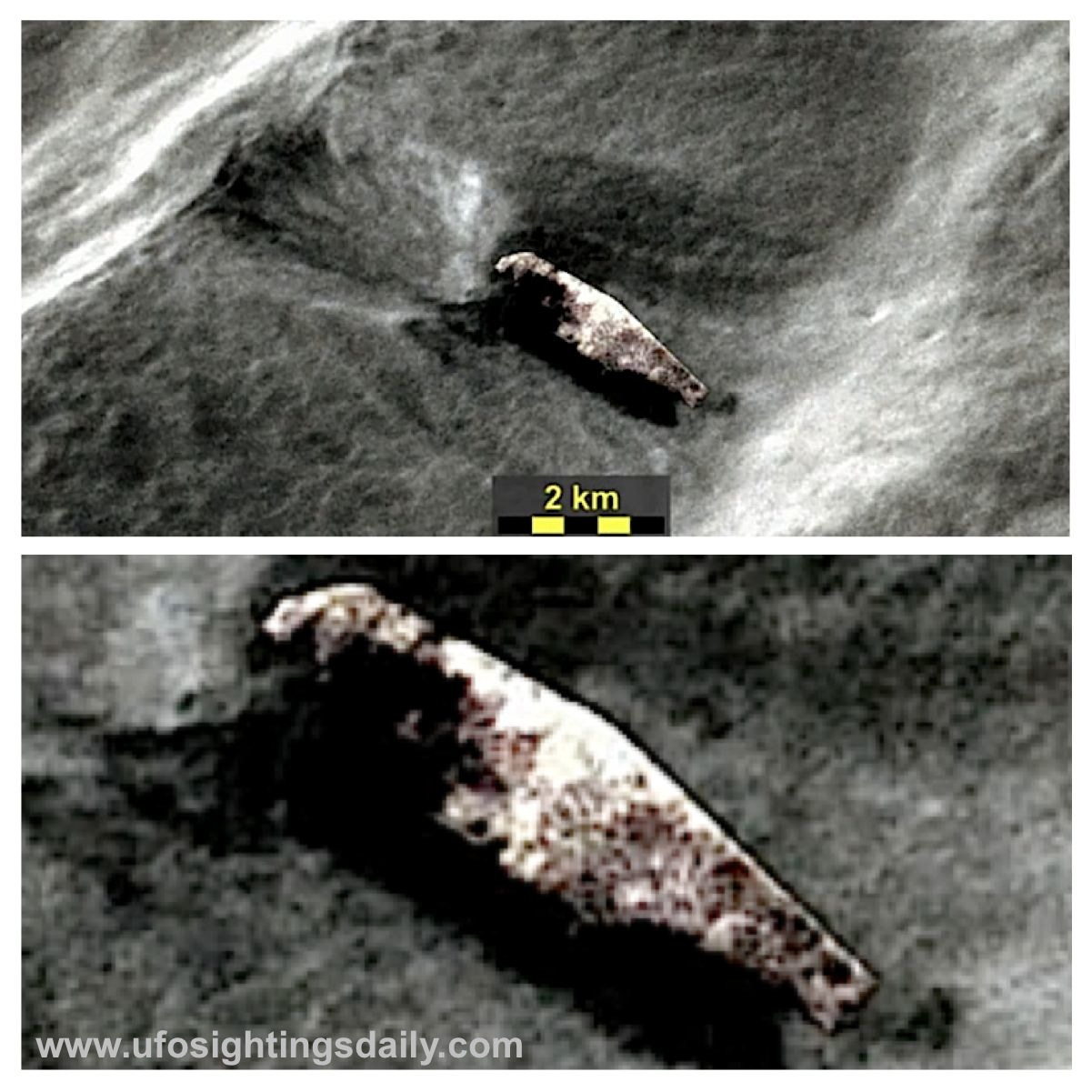 UFO SIGHTINGS DAILY: Ancient Alien Ship Crash Landed On ...