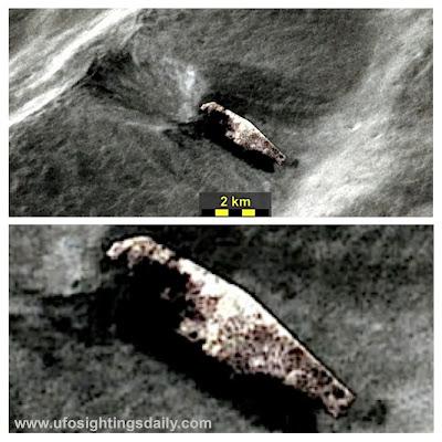 NASA's Apollo 16 captured UFO Crash on Moon Surface?