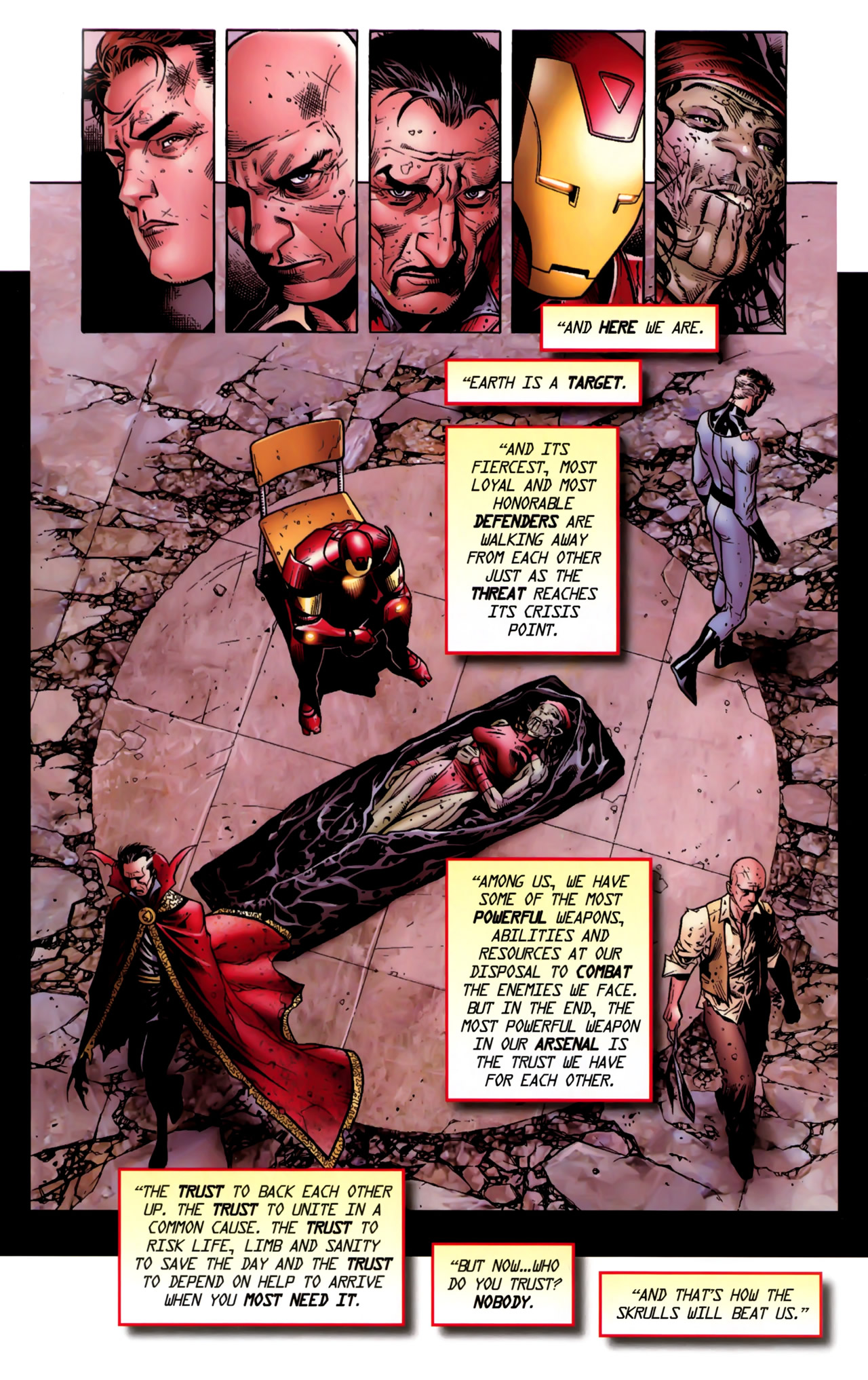Read online Secret Invasion: The Infiltration comic -  Issue #11 - 25