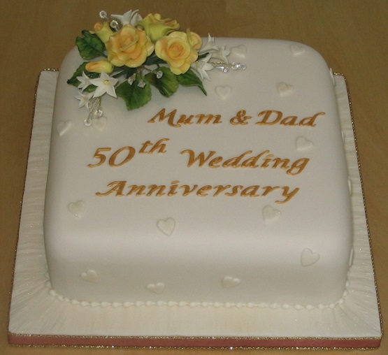 50th Anniversary Cake Sayings The Cake Boutique