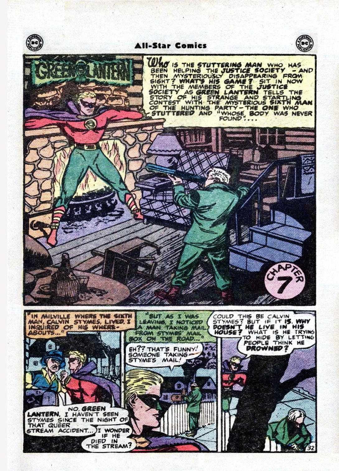 Read online All-Star Comics comic -  Issue #36 - 43