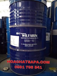 Ngọc Yến SAPA|GLYCERINE WILFARIN USP 99.7%