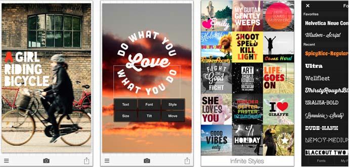 Phonto - Aplikasi Pembuat Kata Kata Android