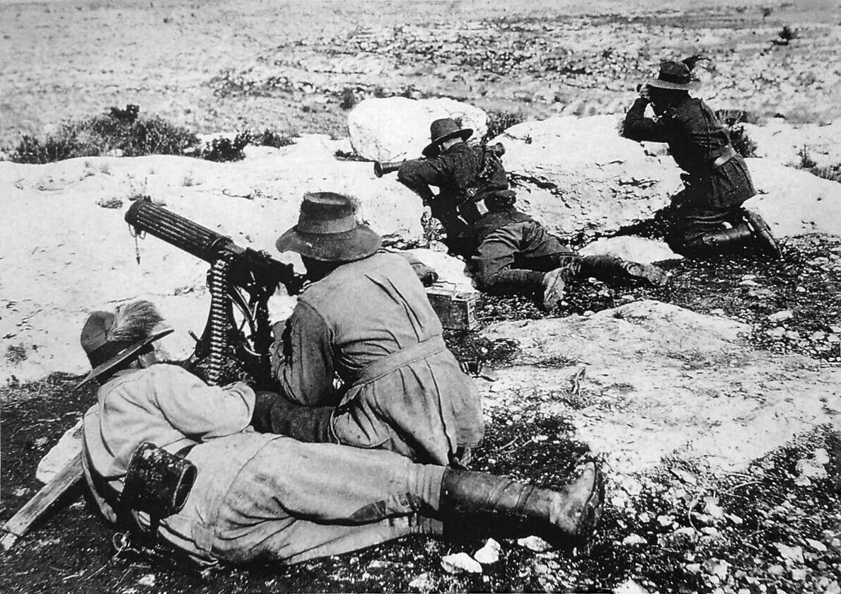ww1 machine gunners