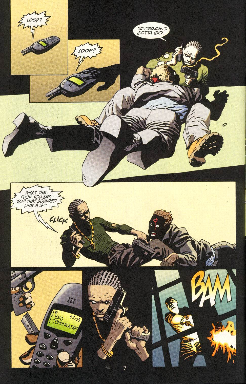 Read online 100 Bullets comic -  Issue #18 - 9