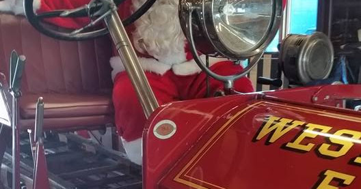 Westminster Fire Dept. debuts a Facebook page to track events with Santa this Christmas season.