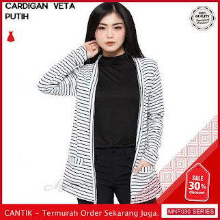 MNF030J149 Jaket Veta Wanita Salur Cardigan terbaru 2019 BMGShop