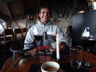 Jantar no passeio ao El Refugio Arelauquen - Bariloche