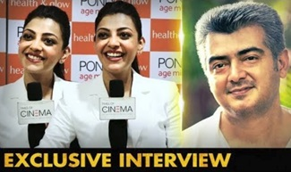 Ajith is a gentle man |Actress Kajal Aggarwal Interview | MLA |Queen