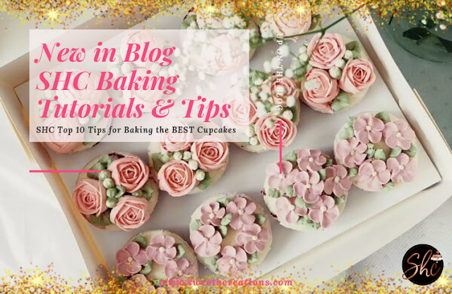 SHC Top 10 Tips for Baking The BEST Cupcakes