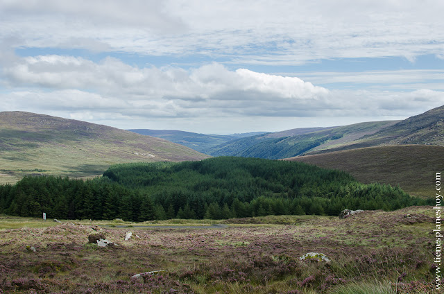 Mirador Mountain Gap Wicklow Mountains Irlanda