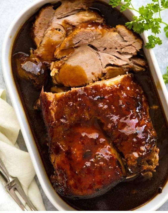 Slow Cooker Pork Loin Roast OR Pork Shoulder