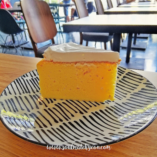 Japenese Light Cheese Cake, COF Cafe
